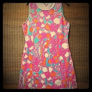 New Lilly Pulitzer French Terry Cotton Dress. M